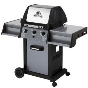 Barbecue Monarch 320 con Tre bruciatori Dual-Tube™ in acciaio inox da 8,8 Kw