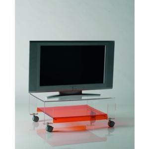 Tavolino Porta Tv Con Ruote.Tavolino Porta Tv Con Ruote 75x52xh31 Cm Verve Struttura In