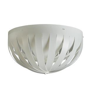 Plafoniera da soffitto in sandylex pearl Ø60xh 32 cm - 3xE27 max 42W -HGS
