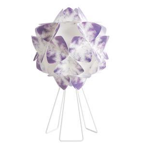 Lampada da Tavolo sandylex pearl Cotton Light Ø46 H73 cm Viola