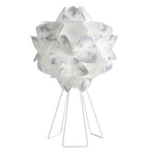 Lampada da Tavolo sandylex pearl Cotton Light Ø46 H73 cm Nuance Grigio