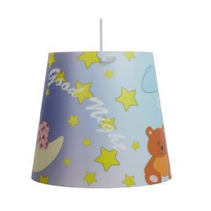 Lampada a sospensione per camerette KONE Piccola Ø 30xh 27 cm in multicolor Orsetto