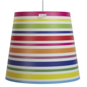 Lampada a sospensione per camerette KONE Piccola Ø 30xh 27 cm in multicolor Strisce