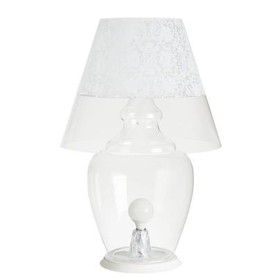 Lampada da terra per interno ANGIPU' Ø 59xh 88 cm Paralume in metacrilato opalino bianco