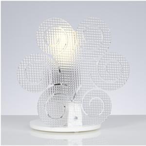 Lampada da Tavolo in Metacrilato 23x15xh23 cm ICCI colore Trasparente Spectrall