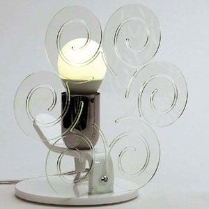 Lampada da Tavolo 23x15xh23 cm ICCI Trasparente