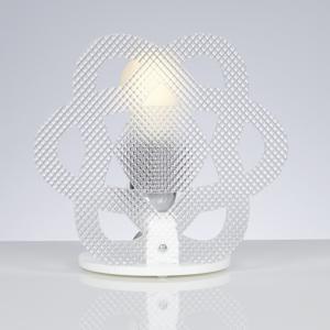 Lampada da Tavolo in Metacrilato 23x15xh23 cm CLEA colore Trasparente Spectrall