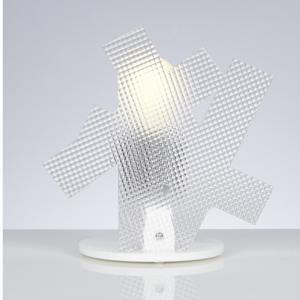 Lampada da tavolo in Metacrilato 23x15xh23 cm ARTI 1xE27 max 30W Spectrall