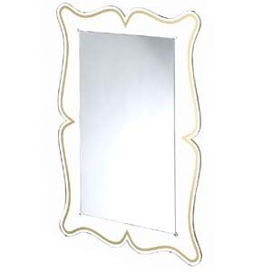 Specchio da muro 60xh90 cm spessore metacrilato 10 mm MAGICO rettangolare Oro