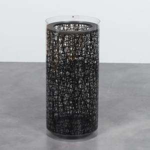 Portaombrelli CALICOT Ø28xh60 cm in policarbonato serigrafato Nero