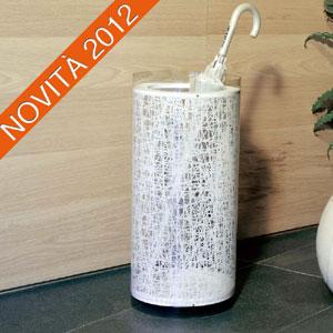 Portaombrelli diametro 28xh60 cm in policarbonato serigrafato CALICOT