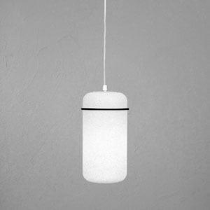 Lampadario 1 lampada BLOOM Ø16x34cm Nero