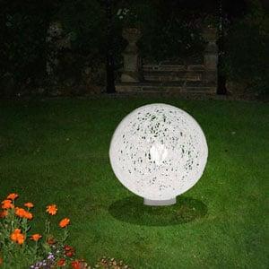 Lampada da appoggio per esterno e giardino RELOAD diametro 55 Bianco