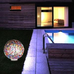 Lampada da appoggio per esterno e giardino RELOAD diametro 55 Multicolor