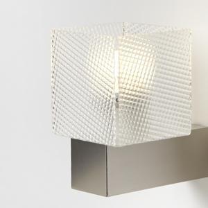 Applique Lampadario da muro DIDODADO con supporto in acciaio paralume Spectral