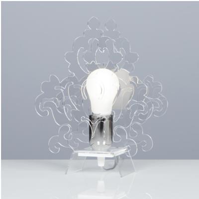 lampada da Tavolo AMARILLI 22x10xh28 cm in metacrilato Colore Trasparente