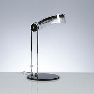 Lampada da tavolo orientabile 20x28xh36 cm Bye Emporium 1xGX53-1 Max 7W Nero