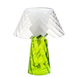 Lampada da Tavolo Abat-Jour in metacrilalto TATA 20x20x25h cm Verde
