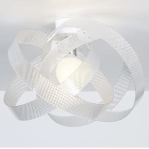 Plafoniera da soffitto in metacrilato Trasparente Ø56xh31 cm Nuvola Spectrall