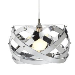 Lampadario a sospensione NUCLEA diametro 40xh24 cm Colore Cromolite