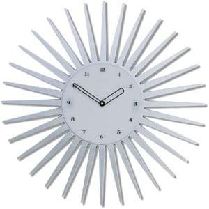 Orologio da parete Sun diametro cm 55 e un orologio da parete con cassa in metallo verniciato