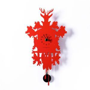 Orologio Mignon 17,5xh34,5 Diamantini Domeniconi senza cucù colore rosso