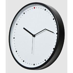 Orologio da parete ON TIME diametro 30 medio con cassa in ferro verniciato e quadrante in alluminio