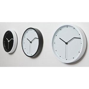 Orologio da parete ON TIME diametro 21 piccolo con cassa in ferro verniciato e quadrante in alluminio