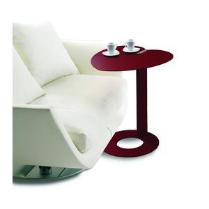 Tavolino multifunzione My Heart 52x54xh60 cm struttura e ripiano colore Marsala sablè