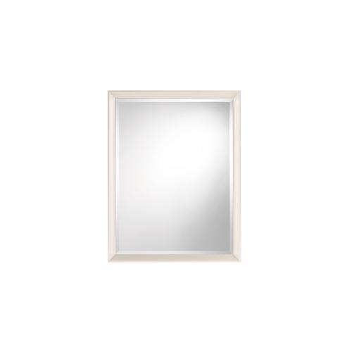 Specchiera rettangolare cornice in alluminio verniciato RIFLESSO 70x90
