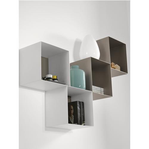 Librerie componibili in arredamento casa stilcasa net for Libreria cubi ikea