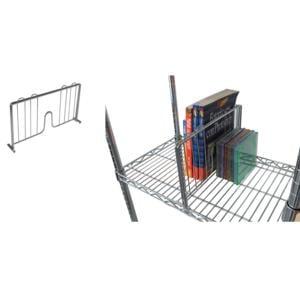 Viceversa Utility System Scaffalature.Separatore Per Libri Verticale 35 Cm Per Scaffalatura Archimede Si Fissa Al Ripiano