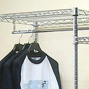 Scaffali Archimede System.Barra Porta Abiti 60 Cm Archimede System