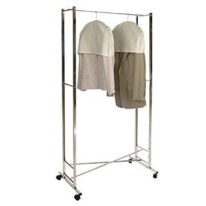 Stender pieghevole portata massima 128-189x56,5x144-169cm 30 kg peso 4,3 colore cromo