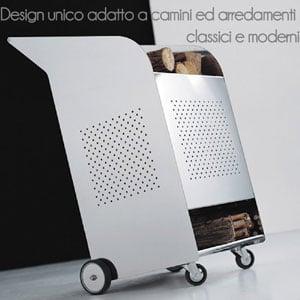 Portalegna Wood trolley INDOOR h1m