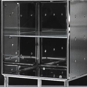 Graepel Ripiano interno per modulo Base in Acciaio Inox Lucido
