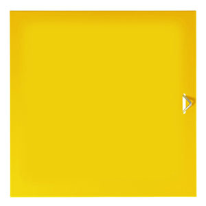 Graepel Anta Piena con Maniglia Da Aggiungere al modulo base QBO giallo