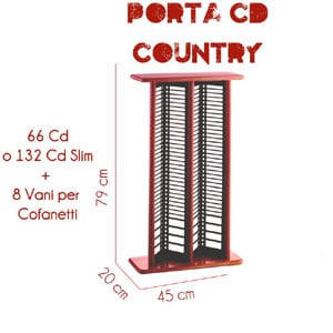 Porta CD Rach Country doppio