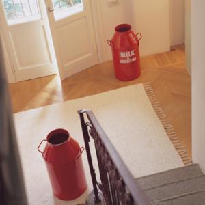 Porta biancheria diametro Ø35xh65 cm Milk Laundry Rosso