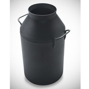 Porta biancheria diametro 35xh65 cm Milk Laundry Nero