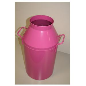 Porta biancheria diametro 35xh65 cm Milk Laundry Colore Fucsia