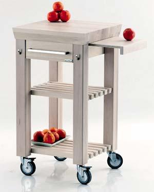 Carrello Cucina Facile | Legnoart | Stilcasa.Net: