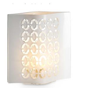 Lampada da Tavolo in Plexi Bicolore BUBBLES Bianco grande 38x25xh47 cm