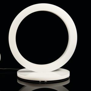 Lampada a Led O-LED 30x23xh31,5 cm - 12 Watt in Plexi Opalino