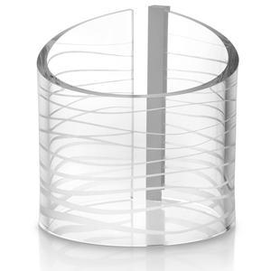 Lampada da tavolo abat Jour POINT BREAK Ø17xh20 cm in Cristallo acrilico
