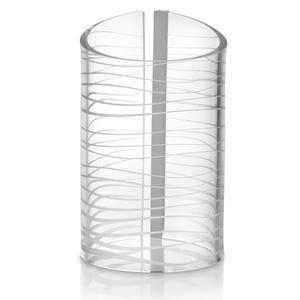 Lampada da tavolo Media CLOUD 9 Ø20xh33 cm in Cristallo acrilico
