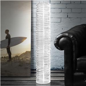 Lampada da terra Piantana HALF MOON BAY Ø25xh120 cm in Cristallo acrilico