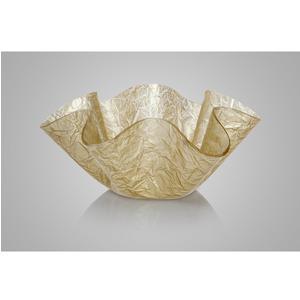 Portavino da tavolo in cristallo acrilico LIke Water 48,5xh20 cm 6 bottiglie trasparente oro