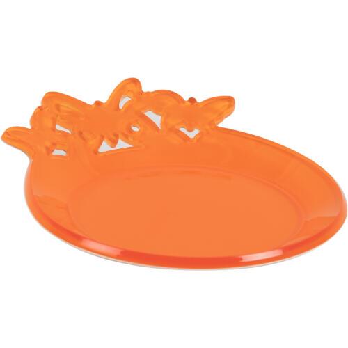 Sottobottiglie in plexiglas bicolore BUTTERFLY Ø 13 cm colore Arancio