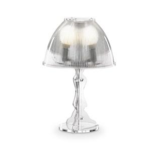 Lampada da tavolo media LADY diametro Ø32xh48 cm Trasparente